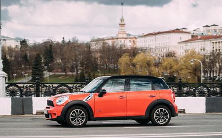 Mini Cooper All 4 Car